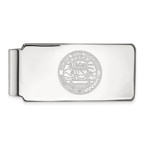 10kw LogoArt Wichita State University Money Clip Crest