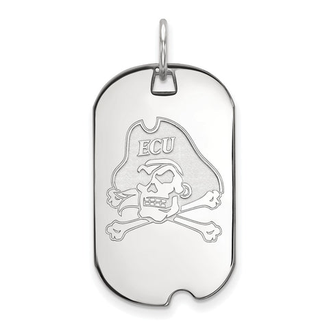 10kw LogoArt East Carolina University Small Dog Tag