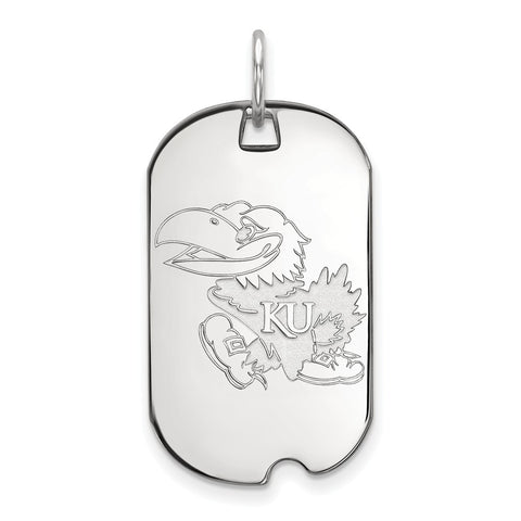 10kw LogoArt University of Kansas Small Dog Tag