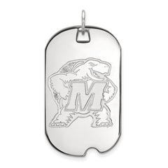 14kw LogoArt University of Maryland Large Dog Tag