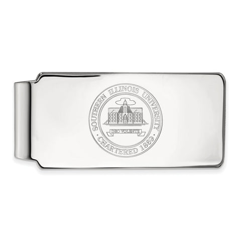 14kw LogoArt Southern Illinois University Money Clip Crest