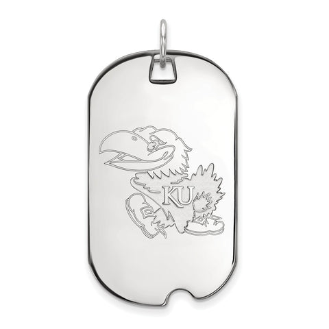 10kw LogoArt University of Kansas Large Dog Tag