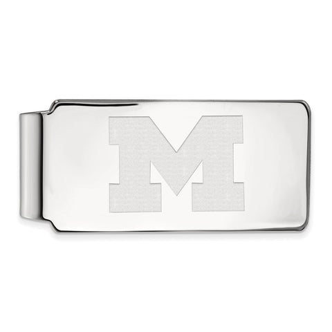 14kw LogoArt University of Michigan Money Clip