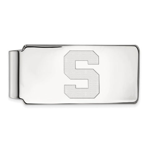 14kw LogoArt Michigan State University Money Clip