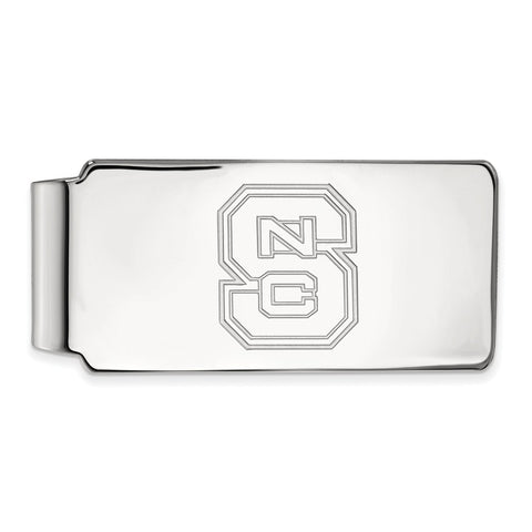 10kw LogoArt North Carolina State University Money Clip
