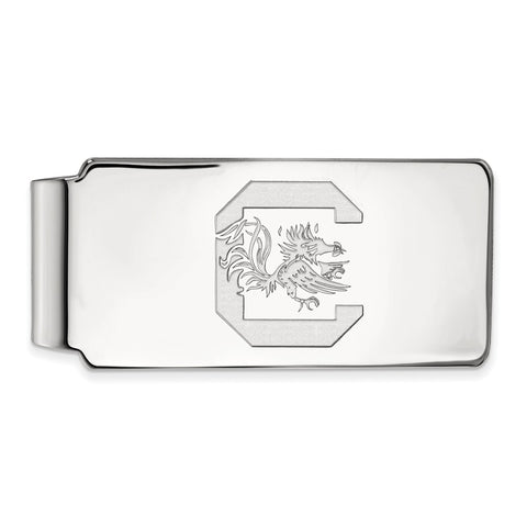 10kw LogoArt University of South Carolina Money Clip