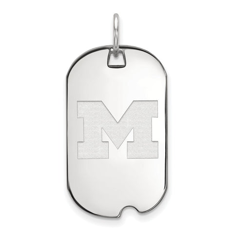 10kw LogoArt University of Michigan Small Dog Tag