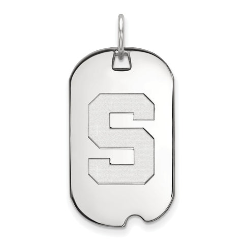 10kw LogoArt Michigan State University Small Dog Tag