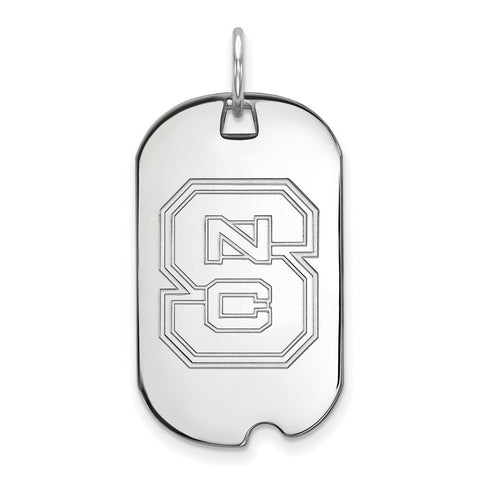 10kw LogoArt North Carolina State University Small Dog Tag