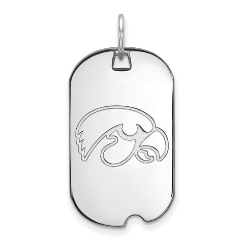 10kw LogoArt University of Iowa Small Dog Tag