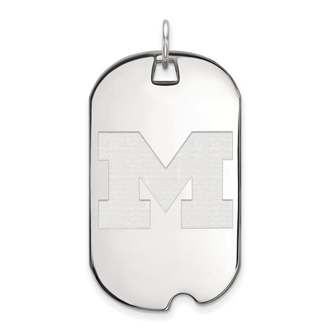 10kw LogoArt University of Michigan Large Dog Tag