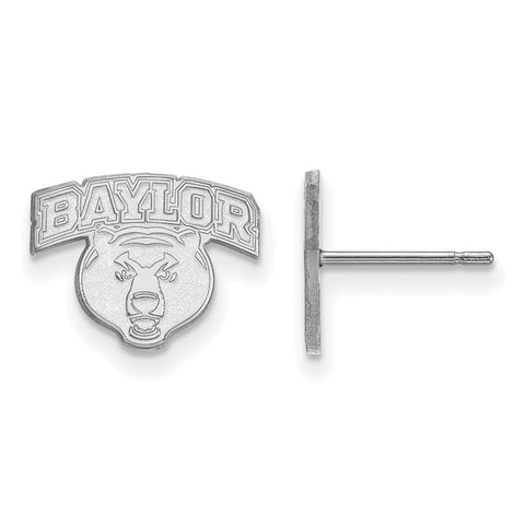 10kw LogoArt Baylor University XS Post Earrings