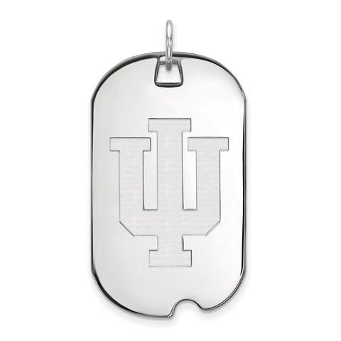 10kw LogoArt Indiana University Large Dog Tag
