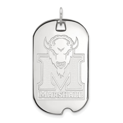 10kw LogoArt Marshall University Large Dog Tag