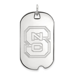 10kw LogoArt North Carolina State University Large Dog Tag
