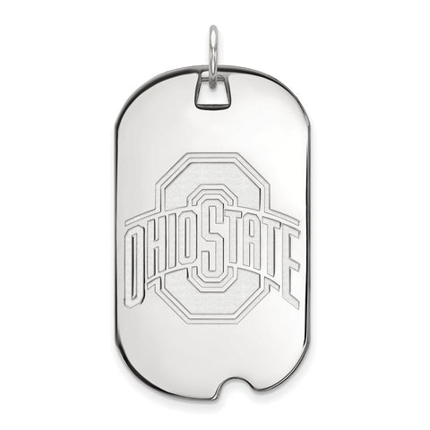 10kw LogoArt Ohio State University Large Dog Tag