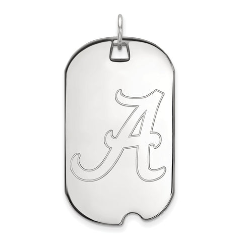 10kw LogoArt University of Alabama Large Dog Tag