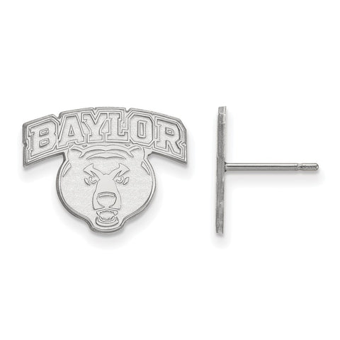 10kw LogoArt Baylor University Small Post Earrings