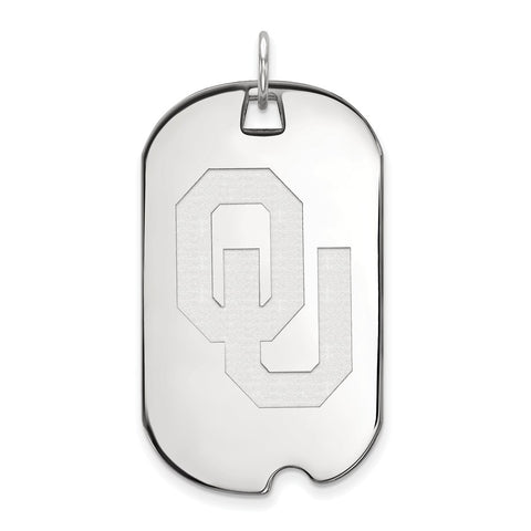 10kw LogoArt University of  Oklahoma Large Dog Tag