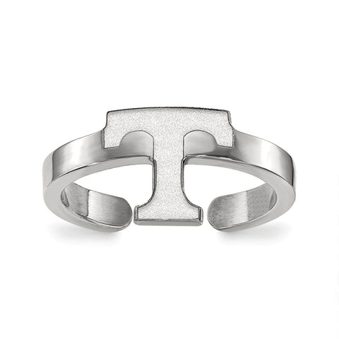 Sterling Silver LogoArt University of Tennessee Toe Ring