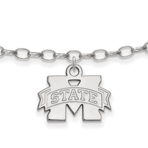 Mississippi State University licensed Collegiate Anklet