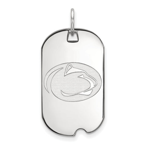 10kw LogoArt Penn State University Small Dog Tag