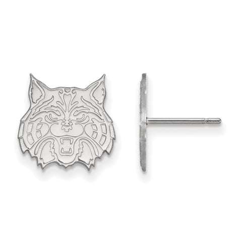 Sterling Silver LogoArt University of Arizona Small Post Earrings
