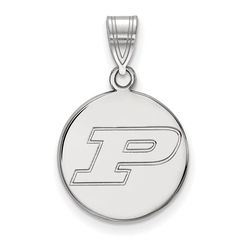 14kw LogoArt Purdue University Medium Disc Pendant