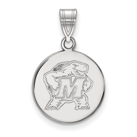 14kw LogoArt University of Maryland Medium Disc Pendant