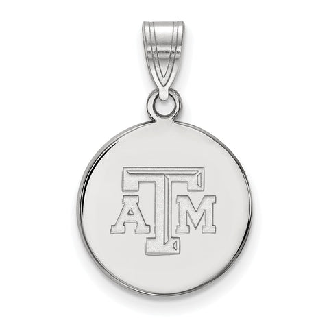 10kw LogoArt Texas A&M University Medium Disc Pendant