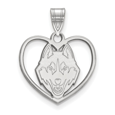SS University of Connecticut Pendant in Heart