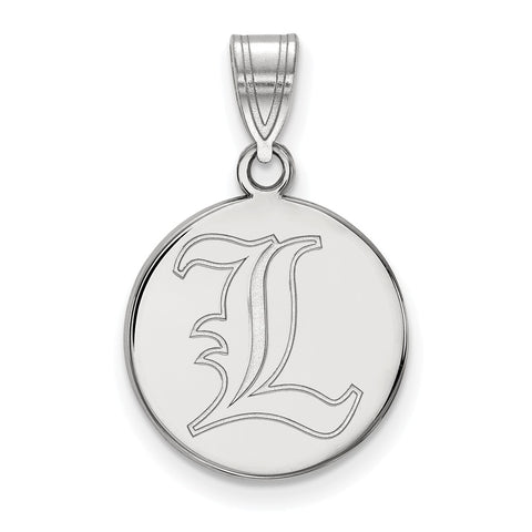 14kw LogoArt University of Louisville Medium Disc Pendant