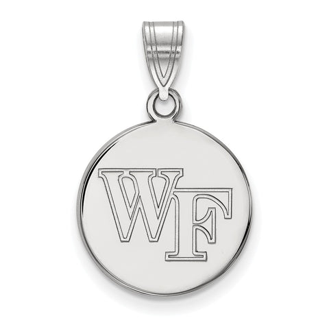 10kw LogoArt Wake Forest University Medium Disc Pendant