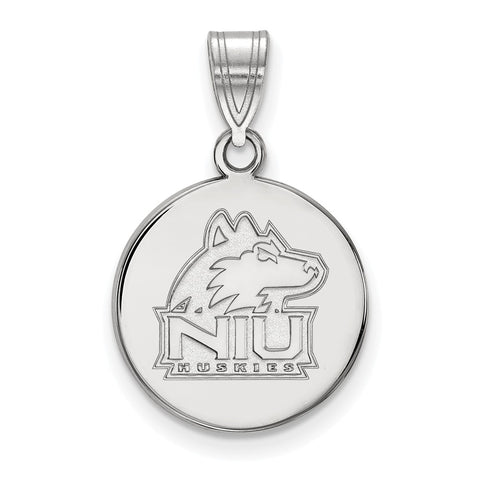 14kw LogoArt Northern Illinois University Medium Disc Pendant