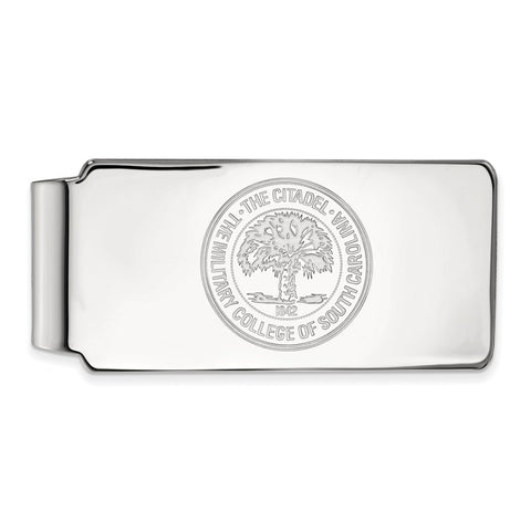 10kw LogoArt The Citadel Money Clip Crest