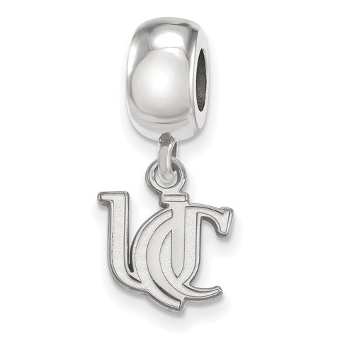 Sterling Silver University of Cincinnati  XS Dangle Charm Bead