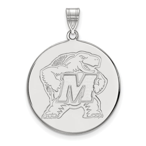 14kw LogoArt University of Maryland XL Disc Pendant