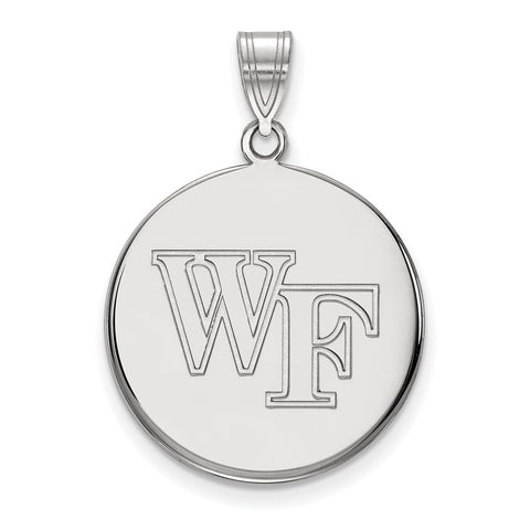10kw LogoArt Wake Forest University Large Disc Pendant
