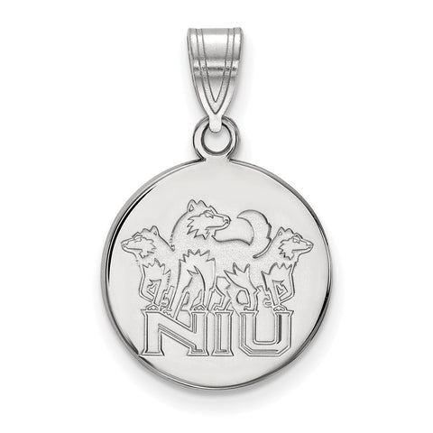 10kw LogoArt Northern Illinois University Medium Disc Pendant