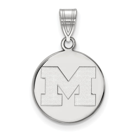 10kw LogoArt University of Michigan Medium Disc Pendant