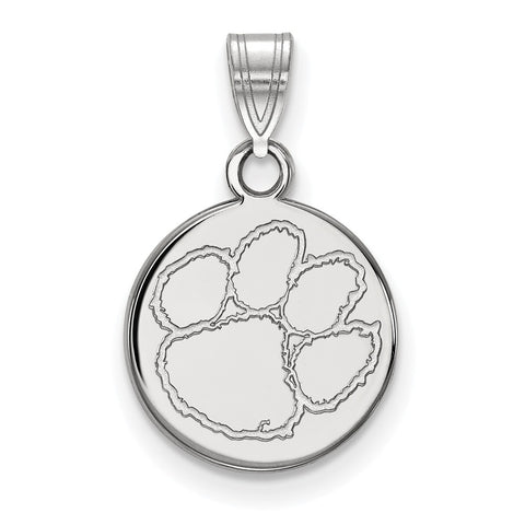 10kw LogoArt Clemson University Small Disc Pendant