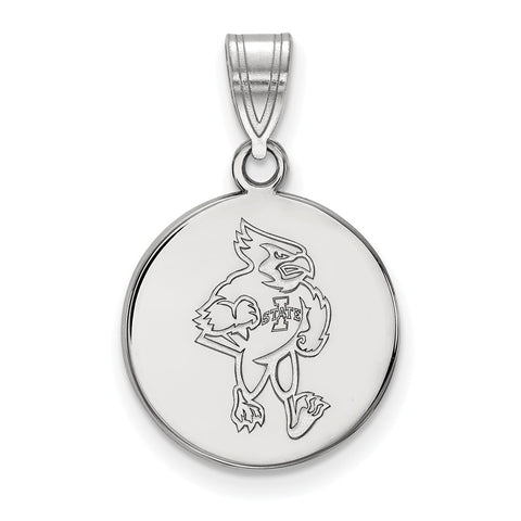 14kw LogoArt Iowa State University Medium Disc Pendant
