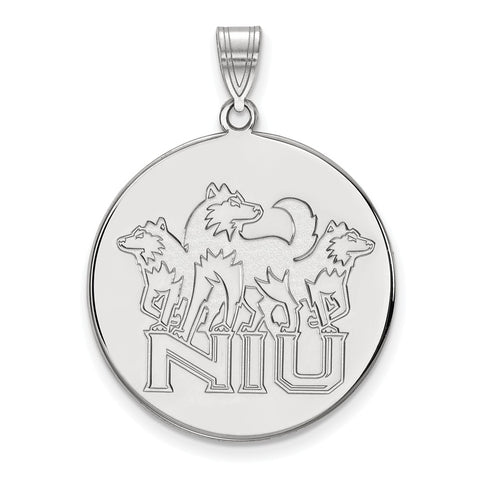 10kw LogoArt Northern Illinois University XL Disc Pendant