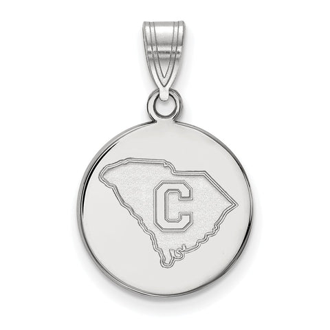 14kw LogoArt The Citadel Medium Disc Pendant