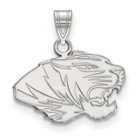 Sterling Silver LogoArt University of Missouri Small Pendant