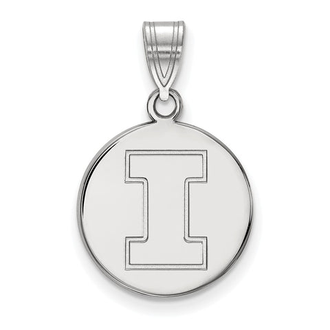 10kw LogoArt University of Illinois Medium Disc Pendant