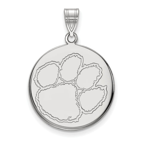 10kw LogoArt Clemson University Large Disc Pendant
