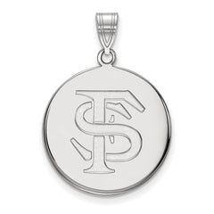 10kw LogoArt Florida State University Large Disc Pendant