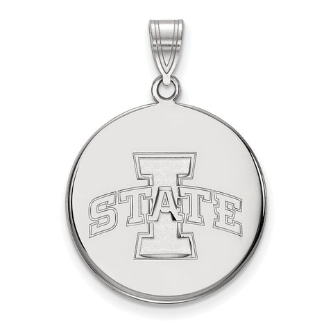 14kw LogoArt Iowa State University Large Disc Pendant