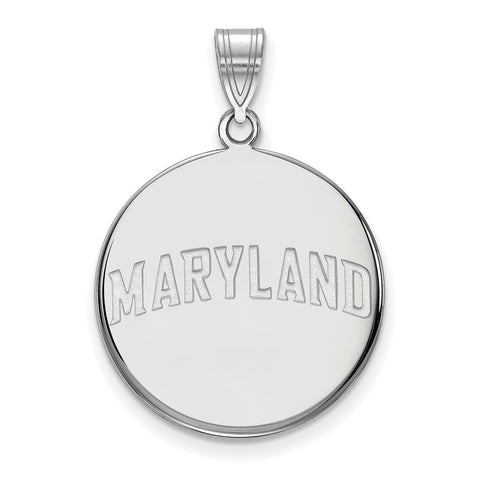 14kw LogoArt University of Maryland Large Disc Pendant
